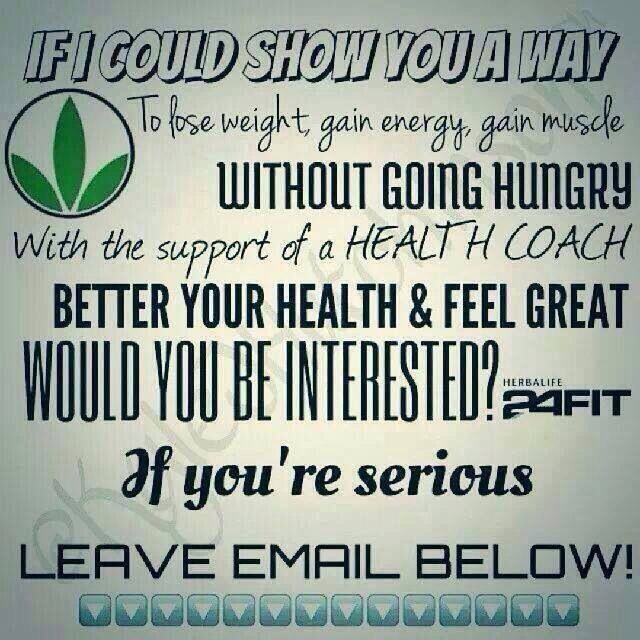 Herbalife for more information