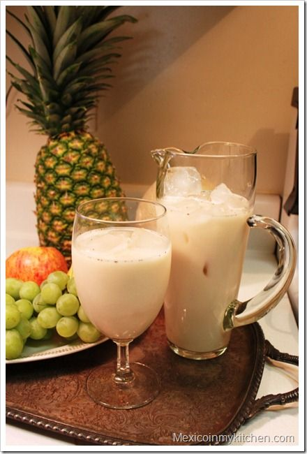 Mexico in my Kitchen: Aguas Frescas, (Mexican Fruit Drinks): Jamaica Flower, Tamarind and Horchata|Authentic Mexican Cooking Blog
