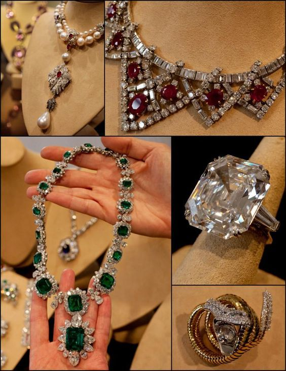 Image detail for -Over 500 pieces of jewelry from Elizabeth Taylor's collection ...