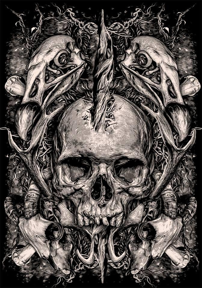 Skulls by bloodboy