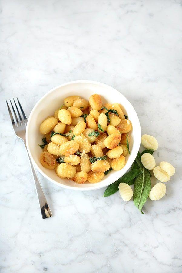 "The most classic gnocchi recipe!  ""Potato Gnocchi with Sage Butter Sauce"""