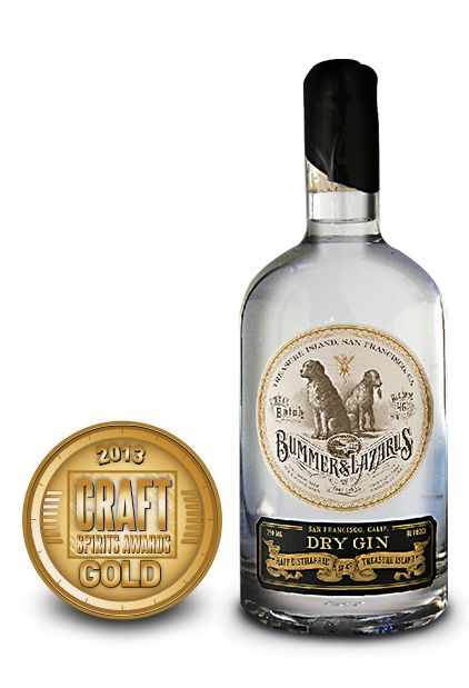 2013 craft spirits awards | bummer lazarus dry gin