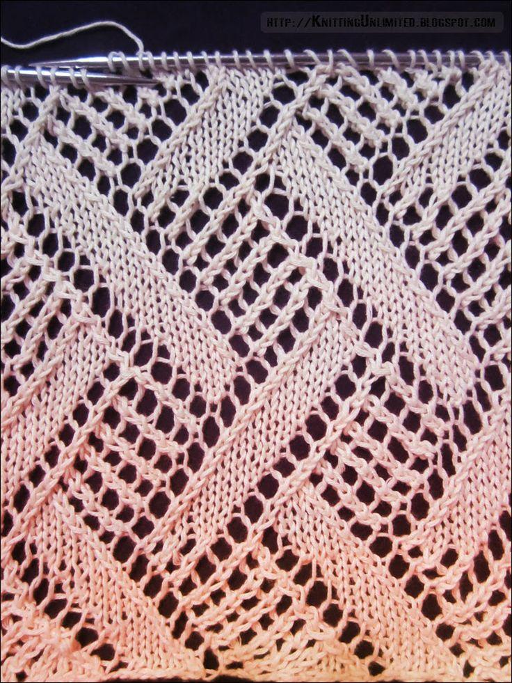 Lace Knitting Pattern 6 | Knitting Unlimited
