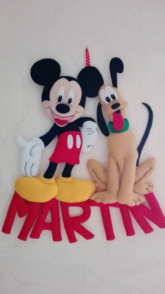 fiocco nascita topolino pluto waltdisney, by dreamfairy, 30,00 € su misshobby.com