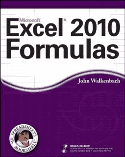 Take your Excel formulas to the next level with this updated reference. You'll learn how to create financial formulas, maximize the power of array formulas, develop custom worksheet functions with VBA, debug formulas, and much more. This invaluable reference is fully updated for the new Microsoft Office release and provides comprehensive formulas coverage, delivering more than 800 pages of Excel tips, tricks, and techniques you won't find anywhere else.