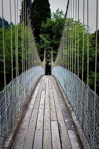 ˚Sappers Suspension Bridge - Betws-y Coed, North Wales