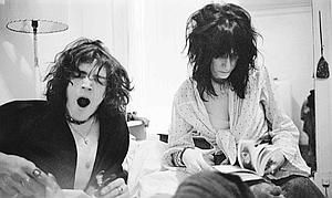 Patti Smith & Robert Mapplethorpe, the coolest hair in the whole world... Patti