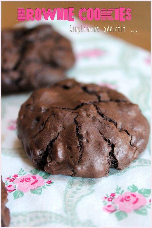 """""""Brownie Cookies"""", faites-les, vous allez succomber ... - """"Mes brouillons de cuisine !"""""""