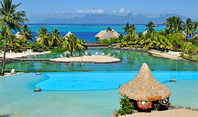 Tahiti: InterContinental Tahiti Resort Package - Stunning Views - Private Beach and Lagoon