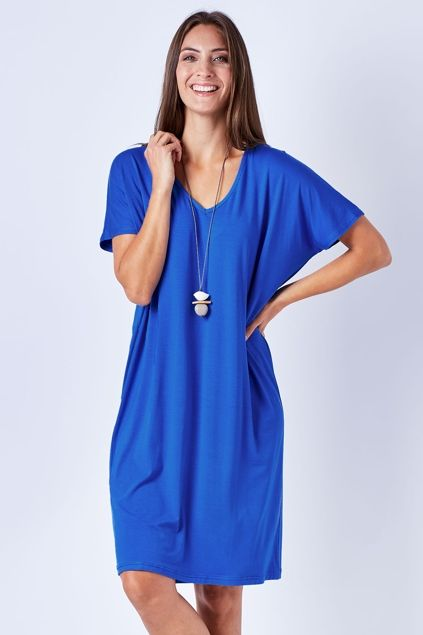 bird keepers The V Neck Shift Dress - Womens Knee Length Dresses - For everything but the girl