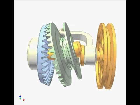 Satellite Bevel Gear 8 - YouTube