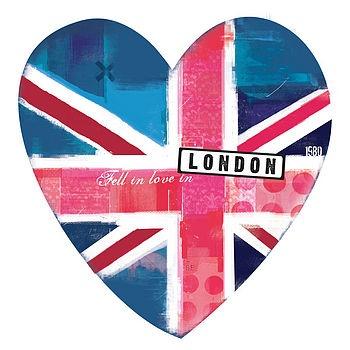 Flag Heart Print  £35