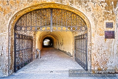 """Whalers' Tunnel under the #Roundhouse in #Fremantle, Western Australia. This is the second image in my """"A Walk Around Fremantle"""" series."""