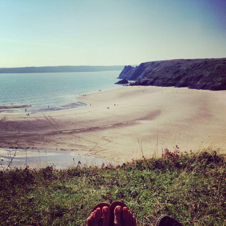 Three cliffs bay Gower - Home Sweet Home