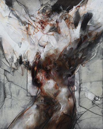 "Vanni SALTARELLI ""Metamorphose""  39,4 x 31,9 in - Oil on canvas.    Gallery Alain Daudet - Pieces of Vanni SALTARELLI"