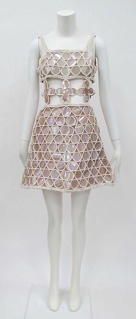 Dress André Courrèges 1968 couture design