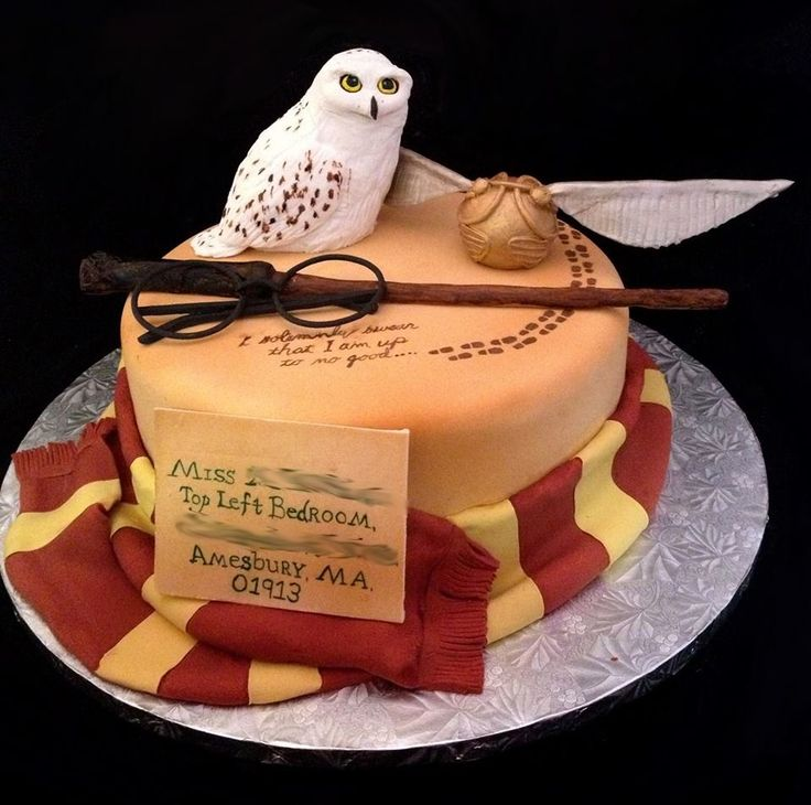 How To Make A Harry Potter Owl Cake