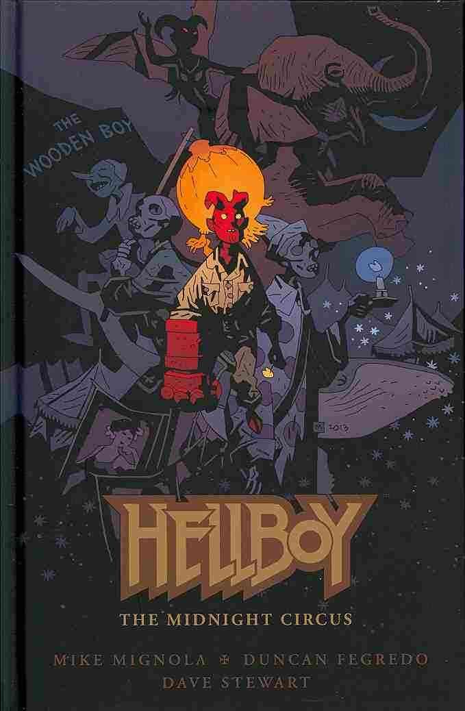 Young Hellboy runs away from the B.P.R.D. only to stumble upon a weird and fantastical circus and the few demons from Hell who inhabit it. * Cover and story by Mike Mignola! * Duncan Fegredo returns!