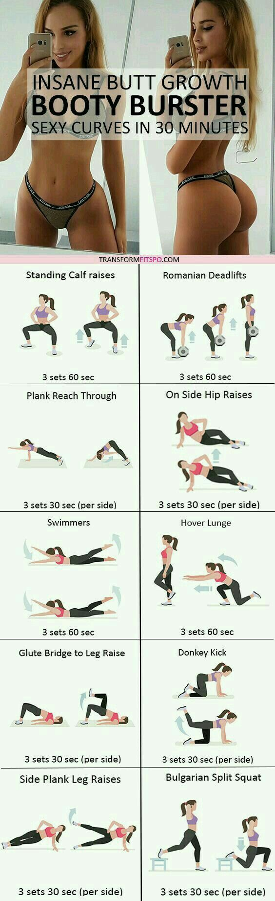 Exercicio para o bumbum