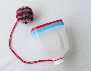 Ballenvanger voor buiten #knutselen! #recyclen #speelgoed