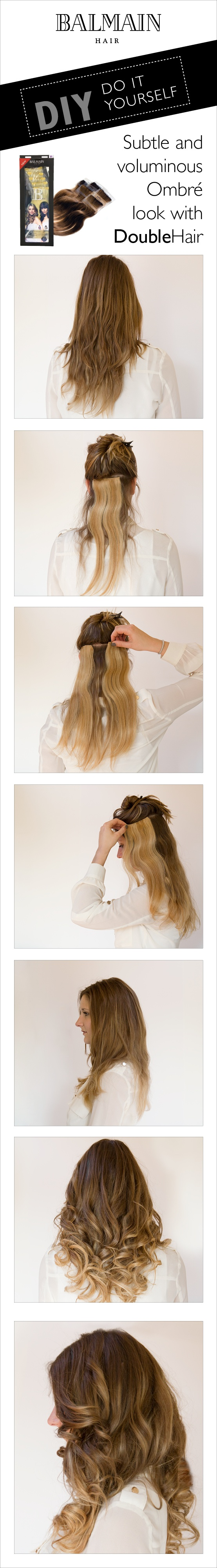 Create the ombre look without chemicals!