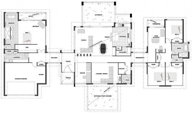 Floor Plan Friday: Living on acreage