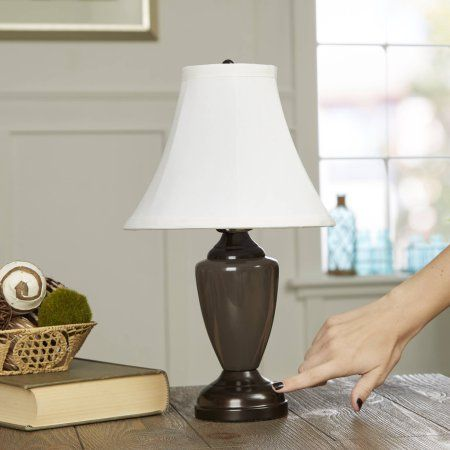 $25 Buy Better Homes and Gardens Touch Lamp, Multiple Colors at Walmart.com - Free Shipping on orders over $35