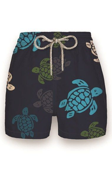 Vilebrequin Turtle Print Swim Trunks (Toddler Boys, Little Boys & Big Boys)