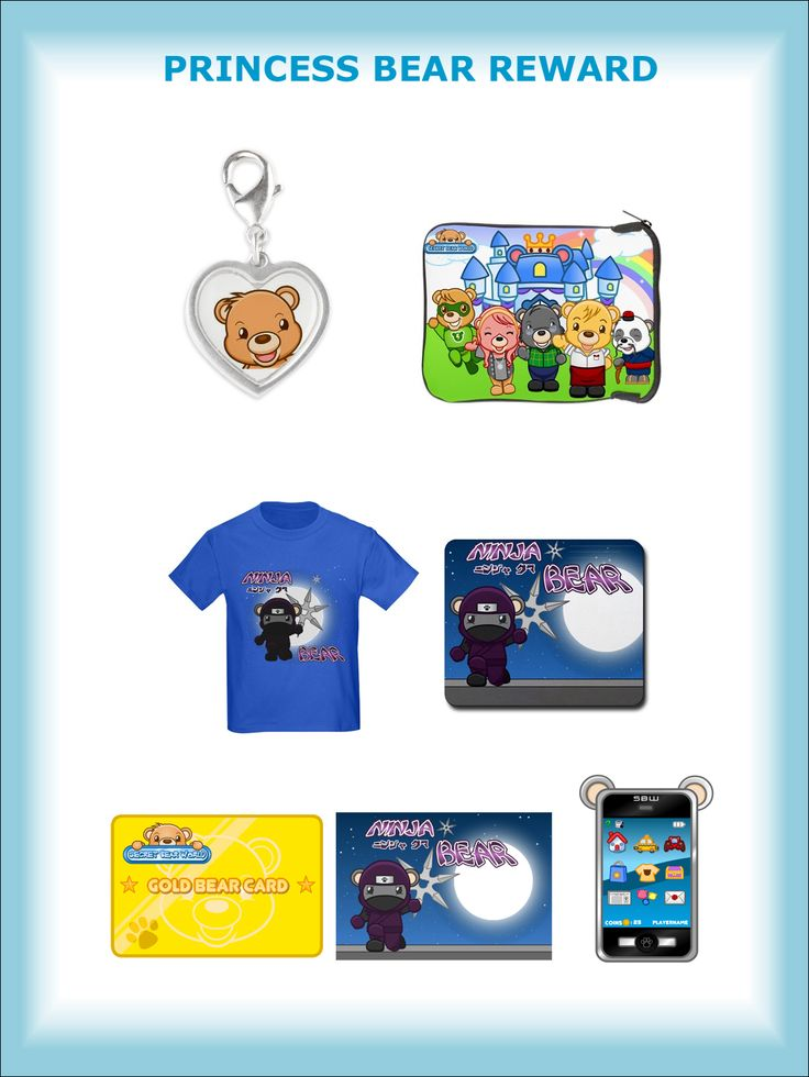 PRINCESS BEAR REWARD - Beautiful silver heart-shaped Charm designed by Secret Bear World (for your bracelet or necklace) plus the GAMER BEAR REWARD upgraded to 3 GOLD BEAR CARDS AND 700,000 Bear Coins ($700 value)!