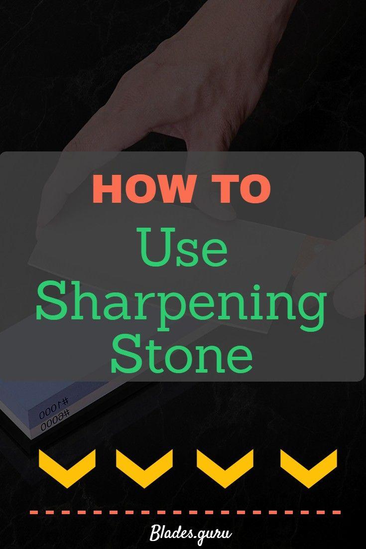 How to use sharpening stone sharpening stone knife