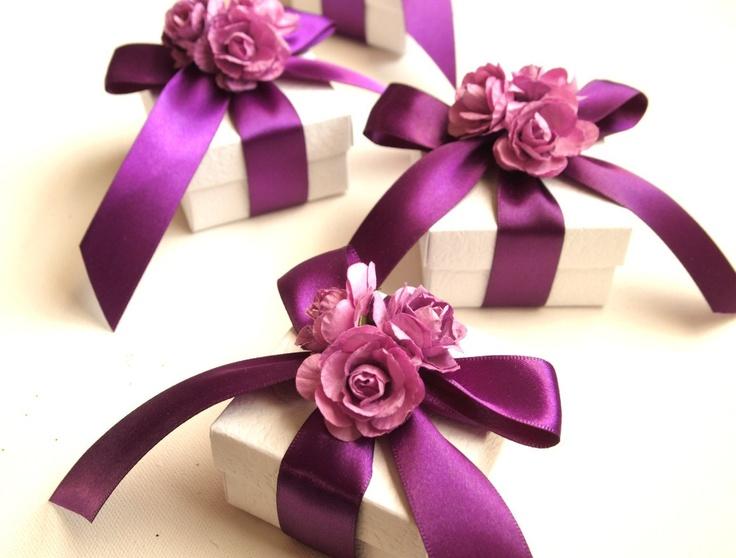 Wedding Favors Purple