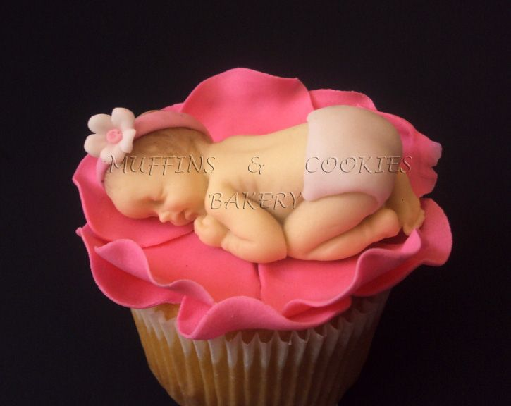 Baby Shower Muffins  /  Cupcakes Bebes