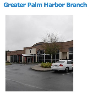 My new YMCA!!!!     The Greater Palm Harbor Branch YMCA is located on 16th Street north of Nebraska Avenue in Palm Harbor and adjacent to the High School.