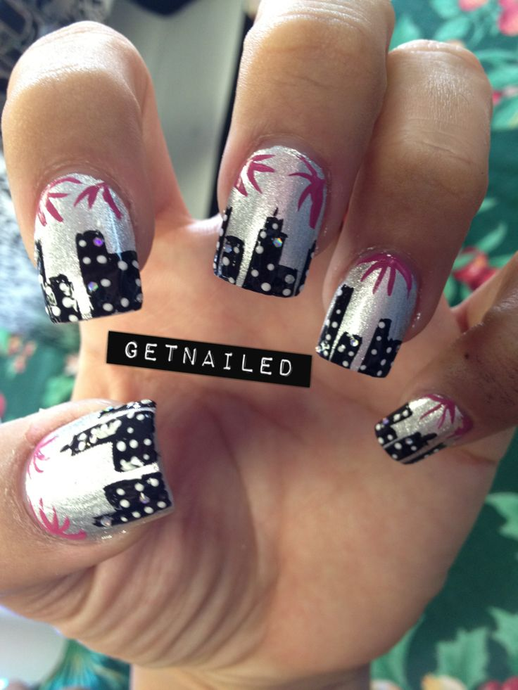19 best Nail Art - New Year\'s images on Pinterest | New year\'s nails ...