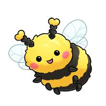 (lovely) Bee http://majorclanger.co.uk/fluffimagesf.htm