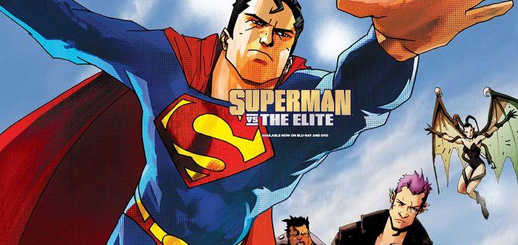 Superman vs The Elite - El Verdadero Poder del Hombre de Acero