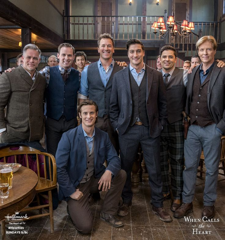 The men of Hope Valley toast to Jack's (Daniel Lissing) engagement to Elizabeth! These are the men who have captured your hearts and won't let go, only on Sundays 9/8c! #Hearties #HallmarkChannel #WCTH