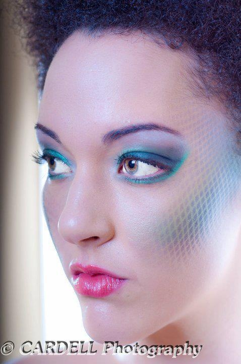 Different Things... Futuristic Makeup