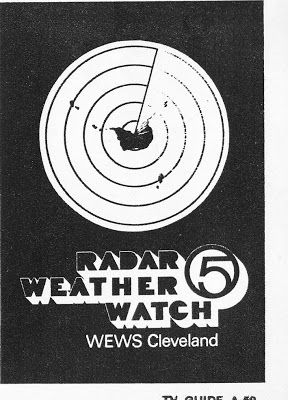 """WEWS-TV 5 ad for one of the first local weather radar systems..""""Radar ..."""