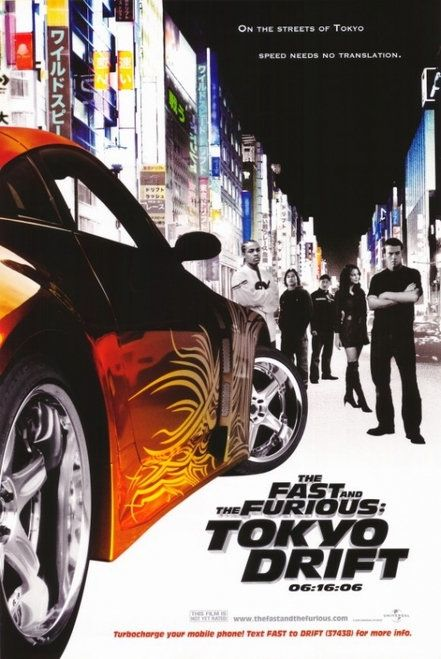 Free Shipping! The Fast and the Furious Tokyo Drift Movie Poster (11 x 17) Item #MOVGH6286 | Posters and Prints from Posterazzi.com