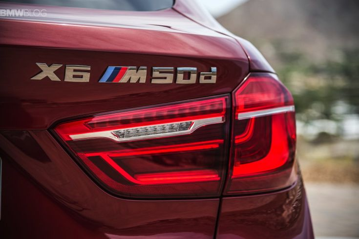 2015 BMW X6 M50d F16 in action on the Nurburgring - VIDEO