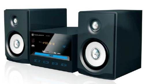 Micro HiFi System - Black