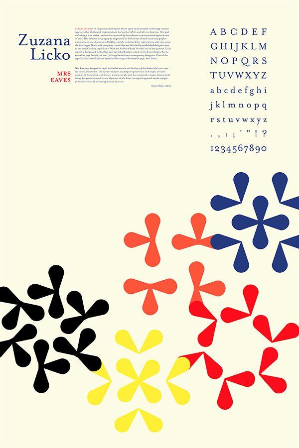 Zuzana Licko's Typeface: Mrs Eaves on RISD Portfolios