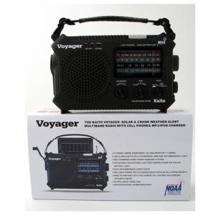 Voyager--The Ultimate Solar & Crank Powered Radio/Cell Phone & MP3 Charger  http://www.urbansurvivaltools.com/Voyager-The-Ultimate-Solar-Crank-Powered-Radio-Cell-Phone-MP3-Charger.html