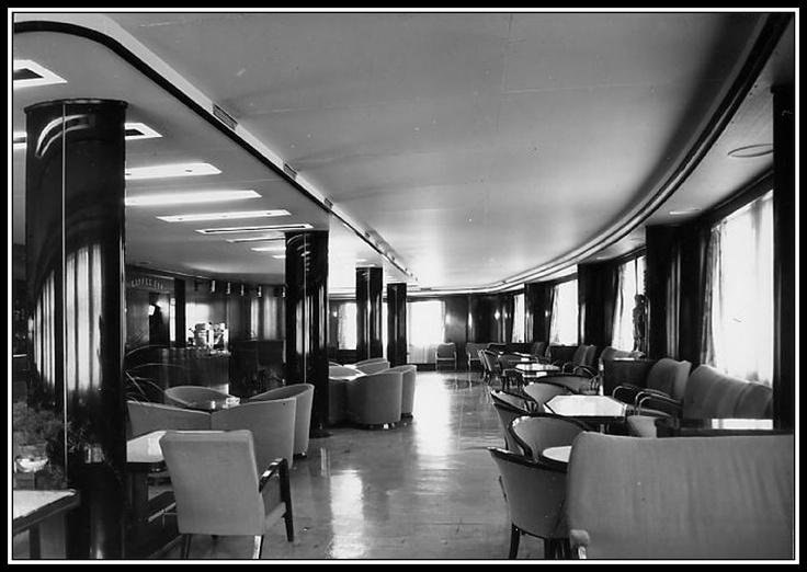 The interior of the last polish transatlantic ship tss stefan batory i am amazed poland for Interior design schools in mississippi
