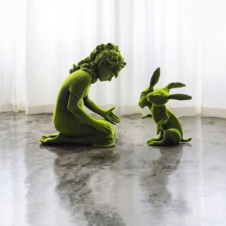 "Kim Simonsson's Latest Series Reimagines Nordic ""Moss People"" 