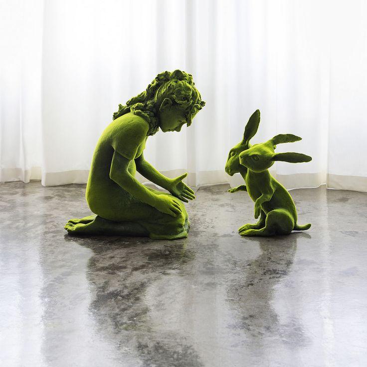 "Kim Simonsson's Latest Series Reimagines Nordic ""Moss People"""