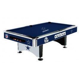 Dallas Cowboys NFL 8ft Billiards/Pool Table with Felt