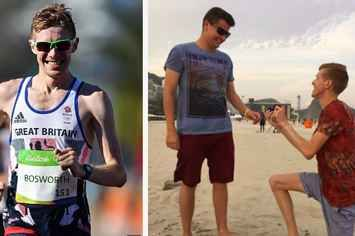 We Must Help LGBT Athletes From Repressive Countries, Says Olympian Who Proposed To His Boyfriend