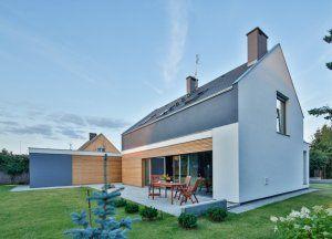 Dom klasycznie nowoczesny